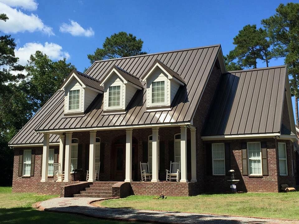 Cocoa Brown Secure-Seam Standing Seam Metal Roof - BR-6