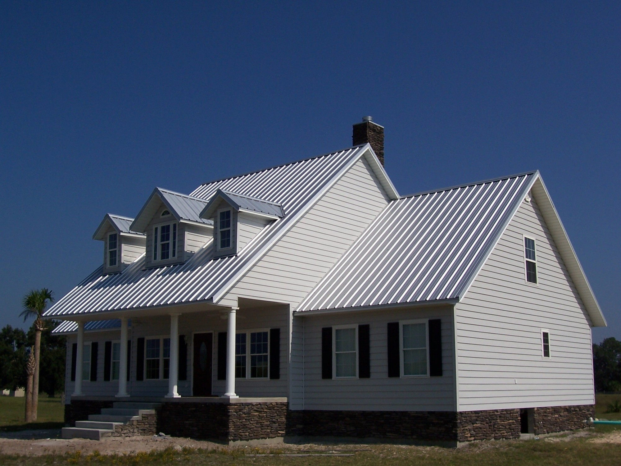 Galvalume Residential Profile Metal Roof - BR-7