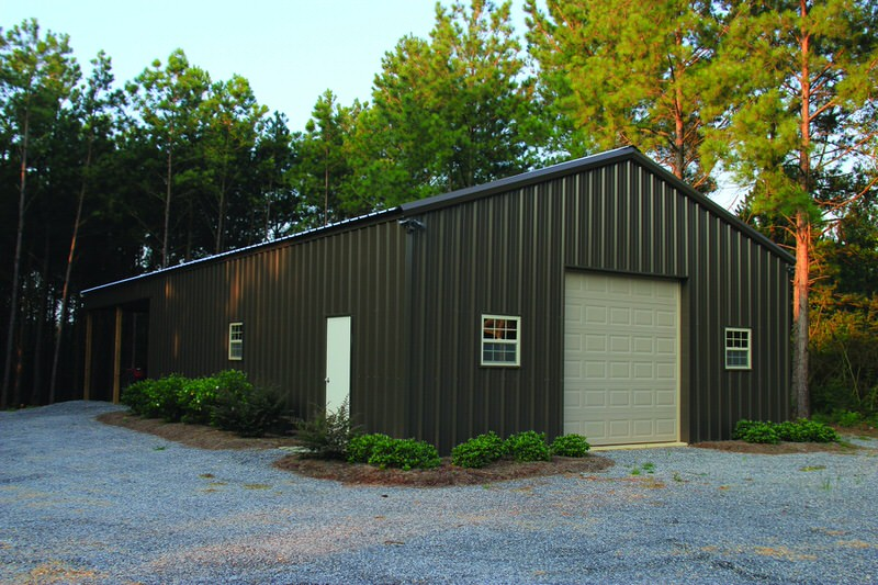 Galleries Example Pole Barns Reed 39 S Metals