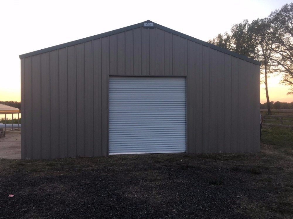 30x50x12 Rigid Frame Metal Building Images