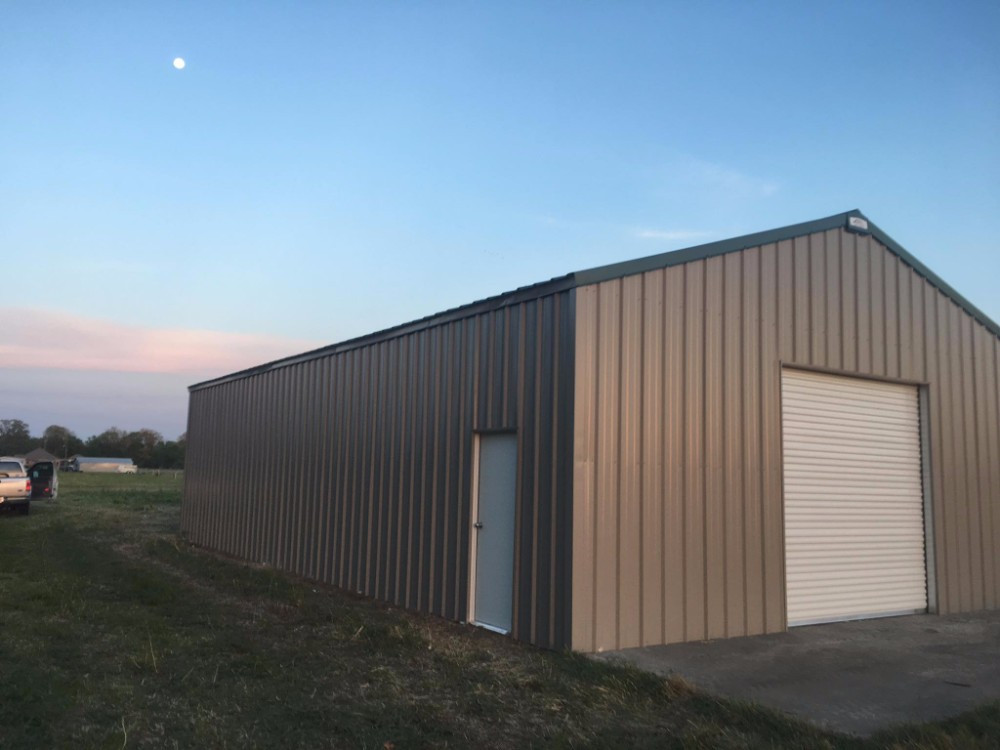 30x50x12 Rigid Frame Metal Building - BR-30
