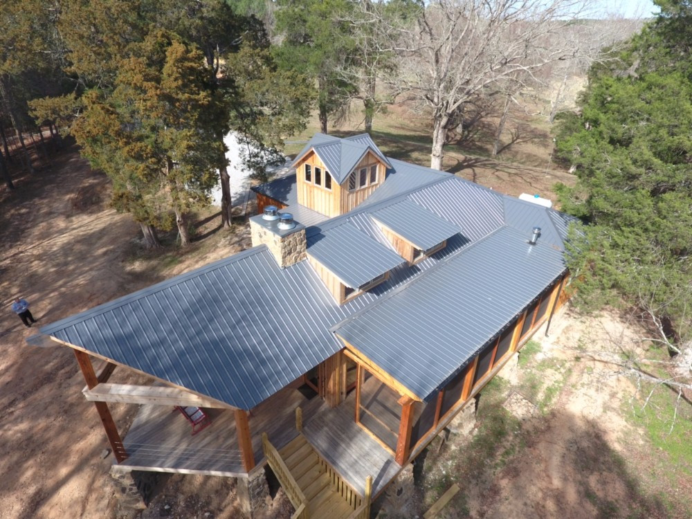 26ga Charcoal Gray Residential Roof - TU-39