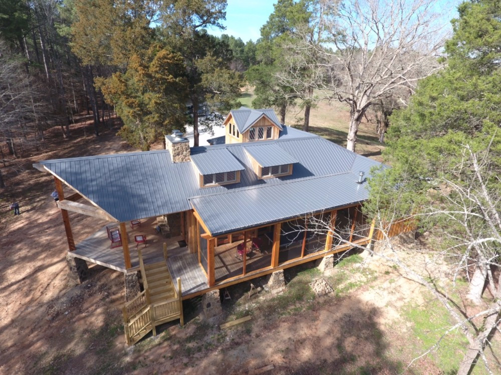 26ga Charcoal Gray Residential Roof Images