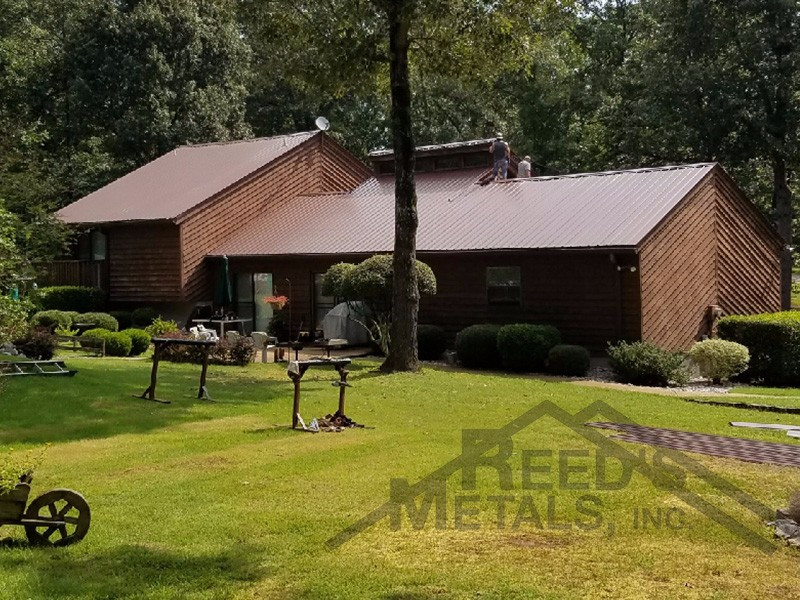 29ga Cocoa Brown Residential Roof Images