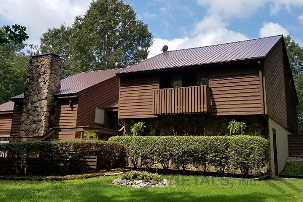 29ga Cocoa Brown Residential Roof Reed S Metals