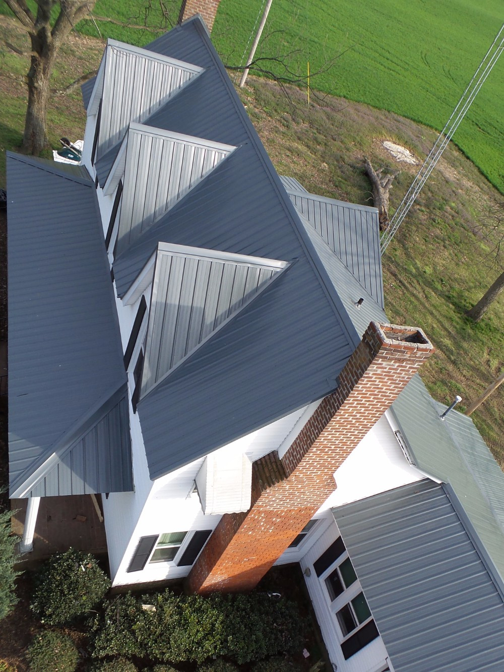 Charcoal Gray Residential Roof Images