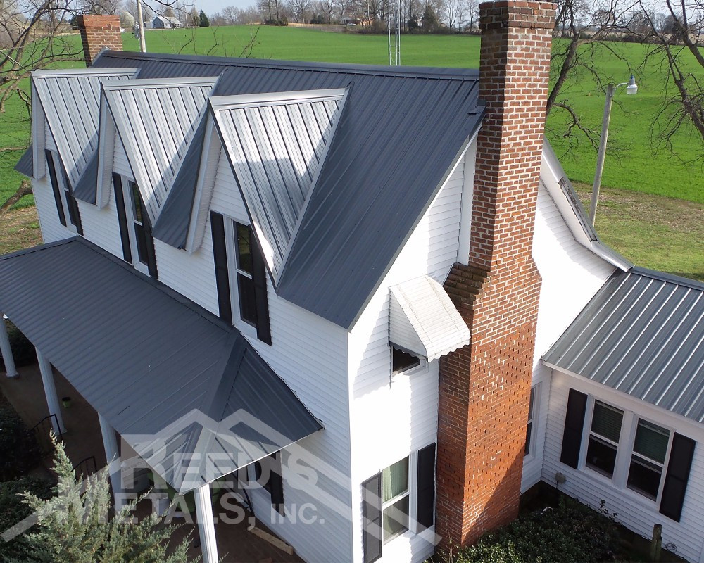 Charcoal Gray Residential Roof - TU-48
