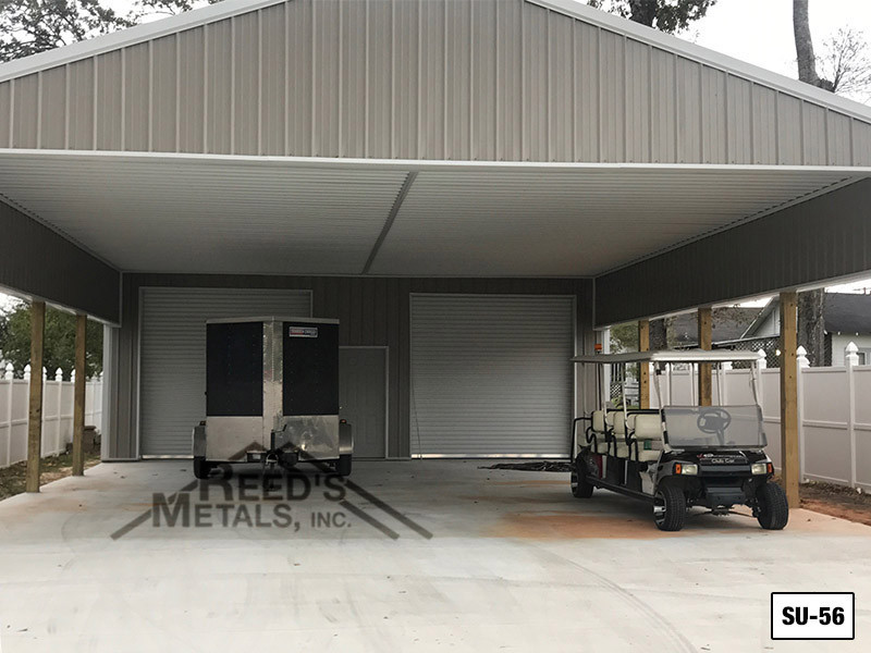Clay 30' x 30' Enclosed Post Frame Building  Images