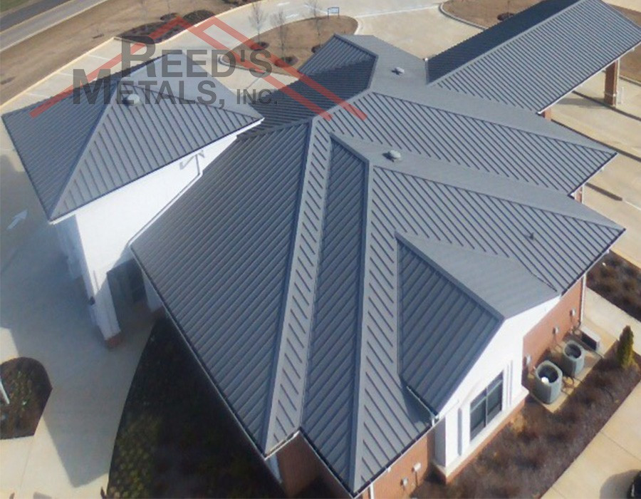 26 Gauge Charcoal Gray Secure-Seam Roof - TU-71