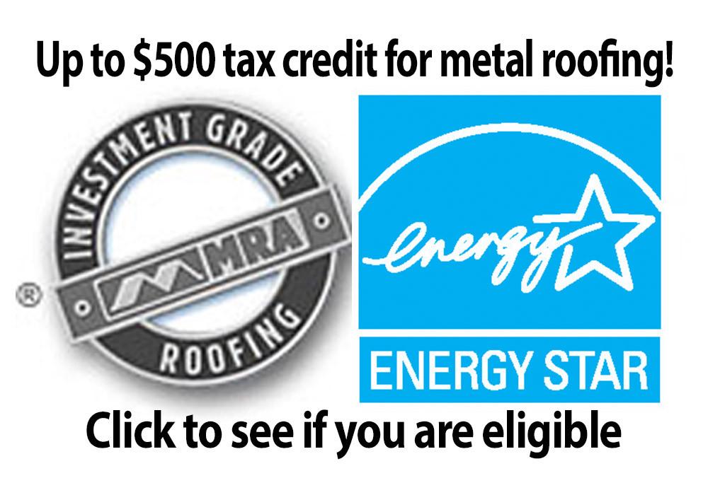 Metal Roof Tax Credit 2018 Metal Roof And Villa