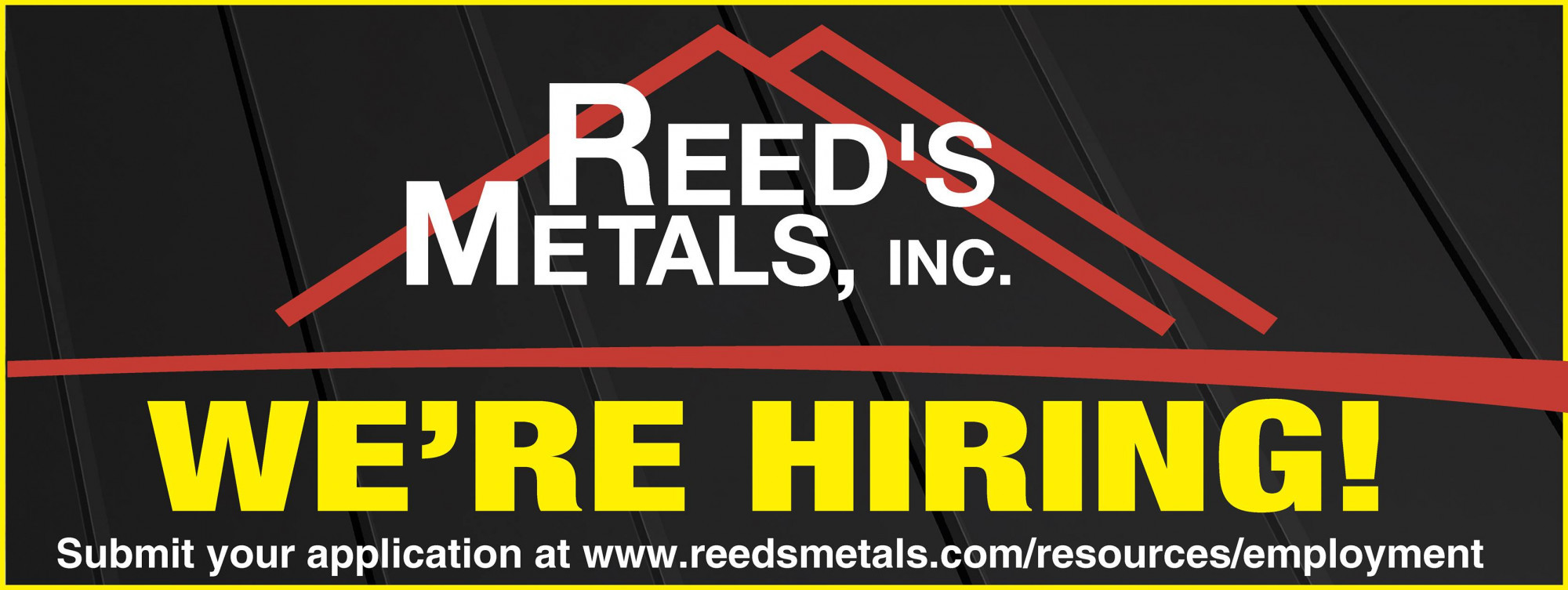Receptionist - Careers with Reed's Metals - Reed's Metals