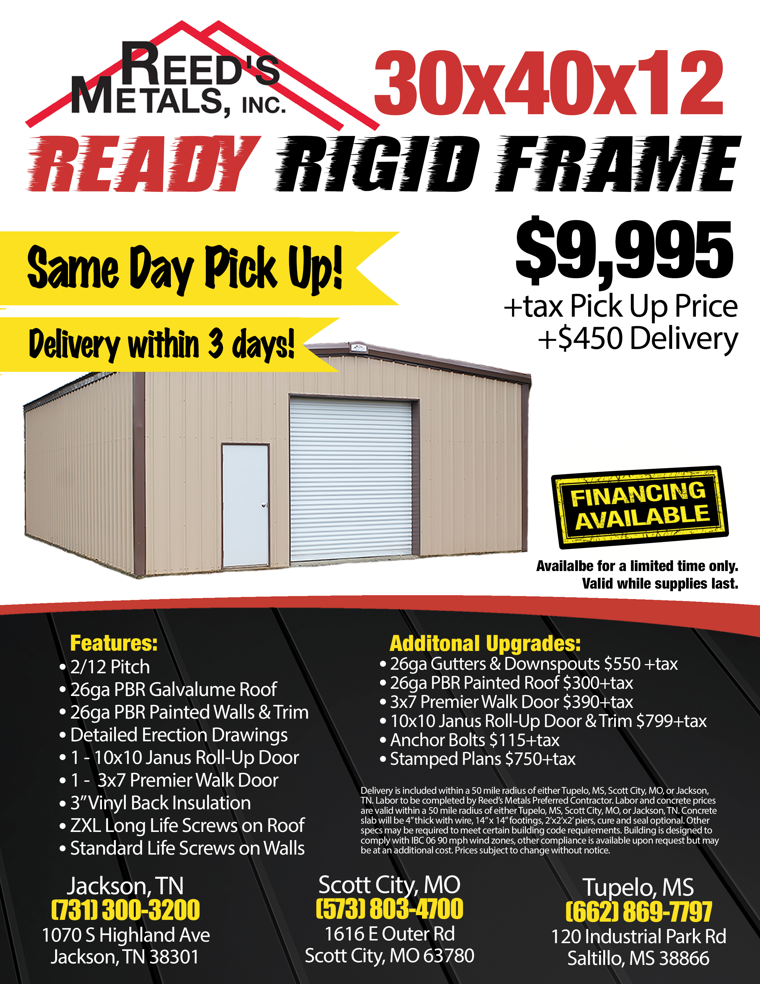Scott City - Ready Rigid Frame