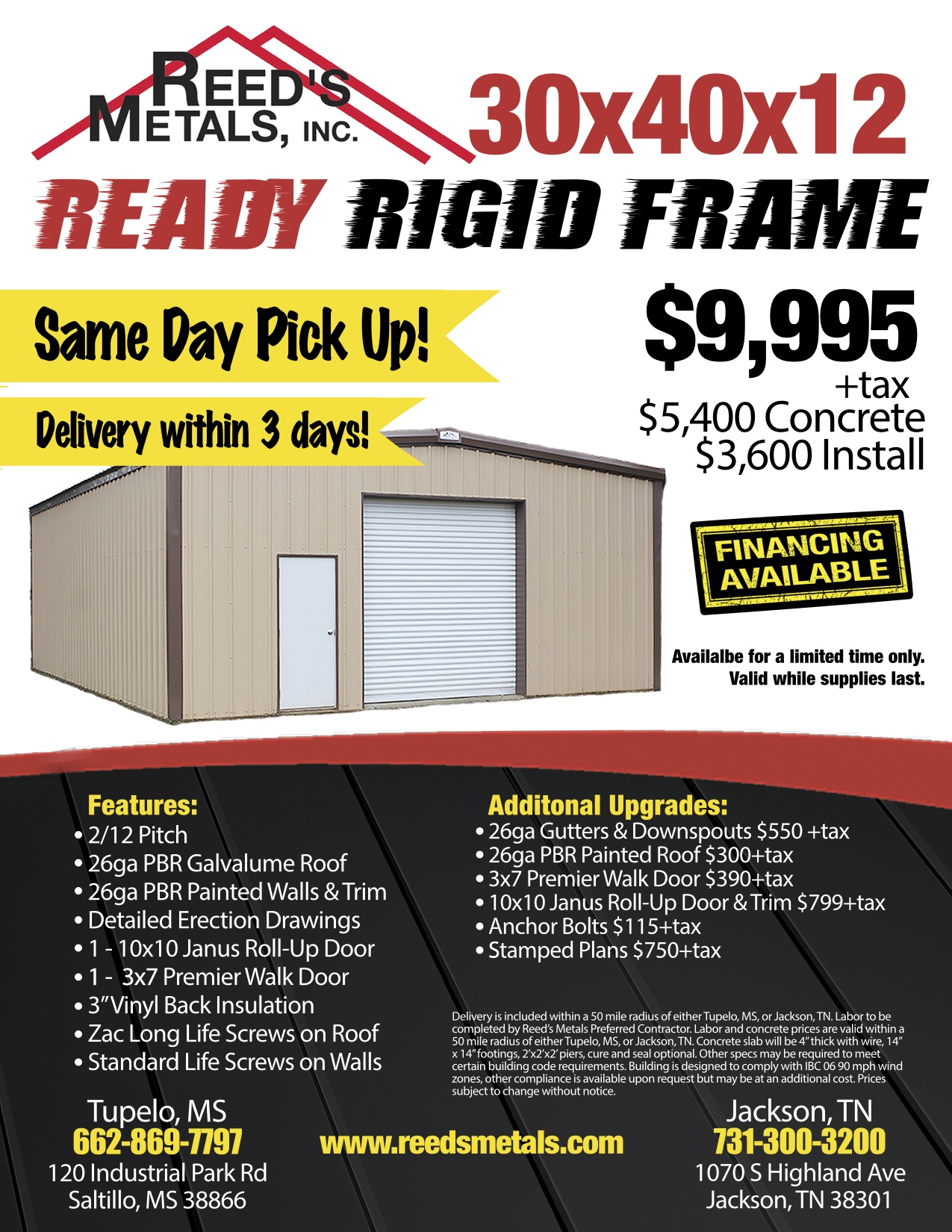 Jackson - Ready Rigid Frame